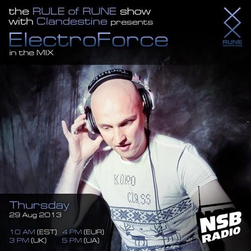 Rule of Rune 026 - Electroforce (BBZ) (08.29.2013)