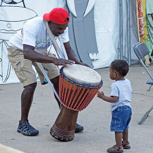 African Arts Fest names Richard Steele the Grand BaBa