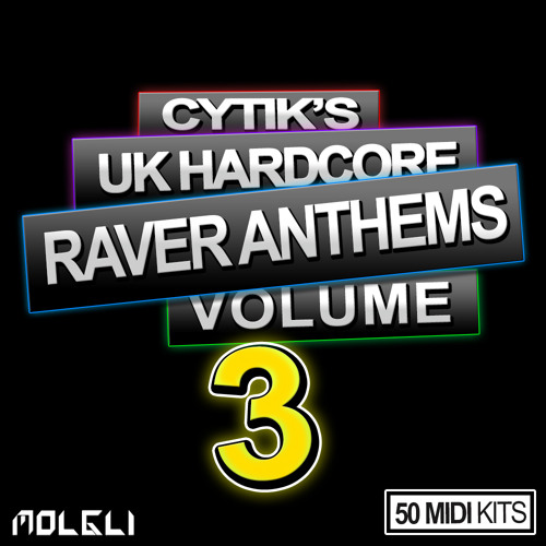Cytik's UK Hardcore Raver Anthems Volume 3 MIDI Pack - Out Now £14.99