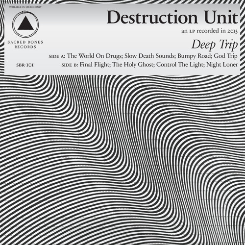 destruction unit - deep trip (album preview)