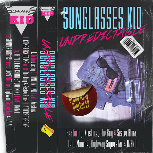 RELIVE THE 80s THIS SEPTEMBER - Sunglasses Kid EP Coming this Saturday 14th Sep