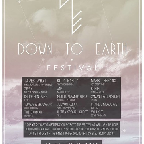 Down To Earth 19/7- michele adamson live sampler