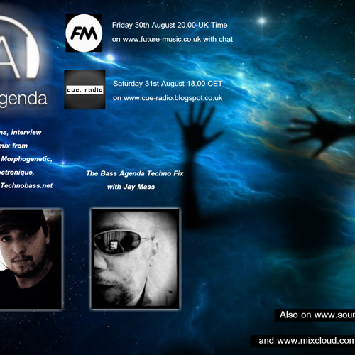 Bass Agenda 61: guest selections, interview & mix from Morphogenetic plus Techno Fix