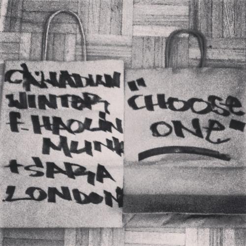 Choose One f/Haolin Munk & Sara London (Prod. by Ka$hkaval)
