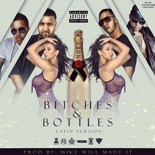 DJ Khaled Presenta a De La Ghetto Ft Ñengo Flow & Anuel - Bitches & Bottles (Spanish Remix)