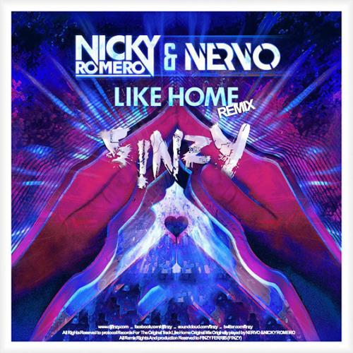 Nicky Romero & Nervo - Like Home (F!NZY REMIX)