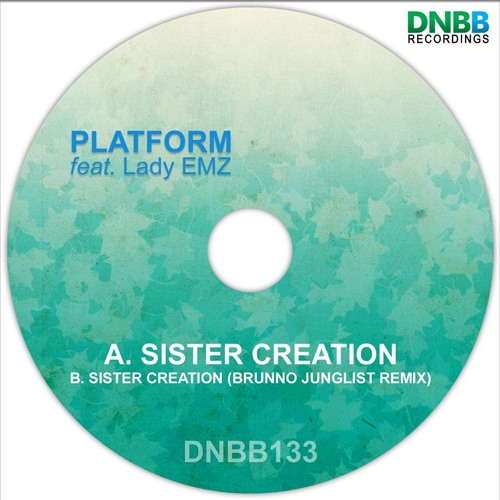 Platform ft. Lady Emz - Sister Creation (clip) out on DNBB Recordings 9th September