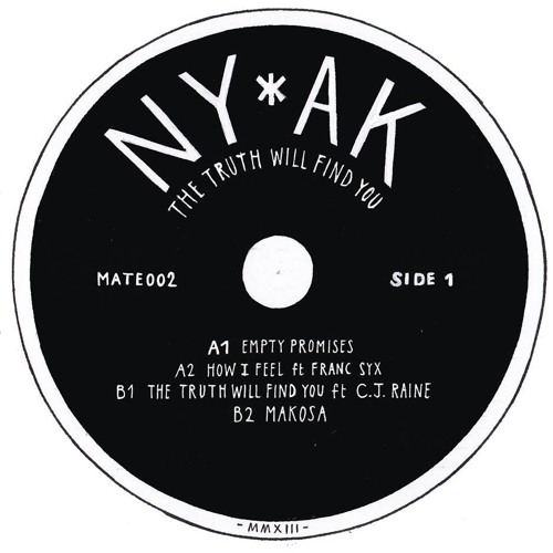 Ny*ak - TheTruth Will Find You ep snippets (intimate friends 002) sep 15th!