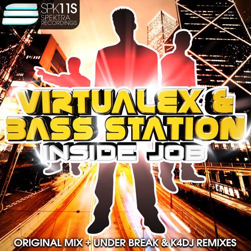 VirtualeX and Bass Station - Inside Job (Under Break Remix) * 11.September on Beatport