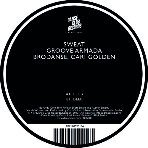 Sweat Feat. Cari Golden (Club) - Groove Armada, Brodanse
