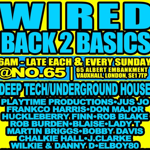Don Major B2B Rob Burden - Wired - 25th August 2013