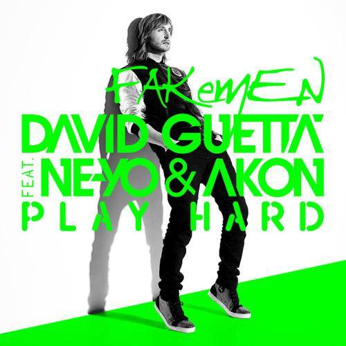 """David Guetta ft. Ne-Yo, Akon """"Play hard"""" - Fakemen version"""