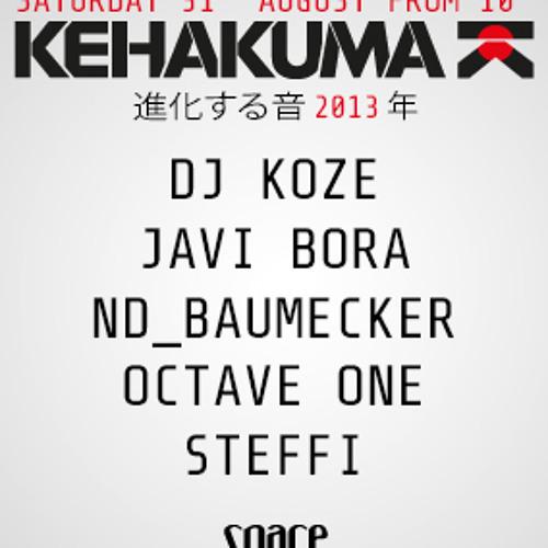 Javi Bora closing set @ Kehakuma at Space Ibiza (31.08.2013)