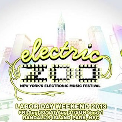Bro Safari w/ MC Sharpness - Live @ Electric Zoo NYC - 8-31-2013 [Free Download]
