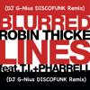Robin Thicke FT- T.I Blurred Lines (DJ G-Nius DISCOFUNK Remix)