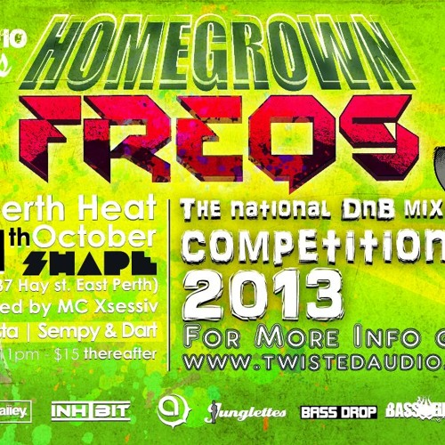 Homegrown Freqs 2013 Crossbreed Demo by Synista