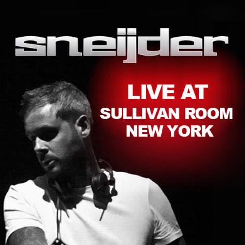 Sneijder Live @ Sullivan Room, New York 2013