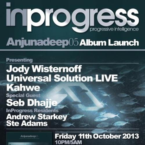 InProgress pres. Universal Solution Anjunadeep promo mix