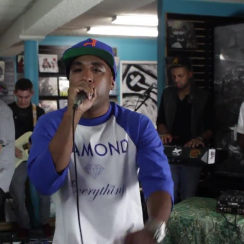 Sofa Coins - Axel F. (J Rocc & MED) Live w/ Balance and the Traveling Sounds