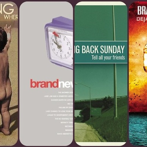 Taking Back Sunday~Brand New~All Time Favorites!
