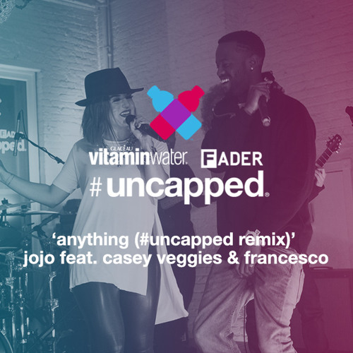 "JoJo f. Casey Veggies, ""Anything (Remix)"""