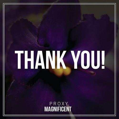 Proxy - Thank You (feat. Elijah Jamal) (Prod. by Symbolyc One aka S1)