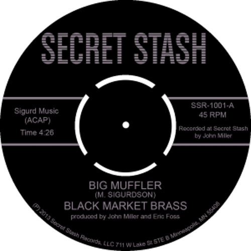 """Black Market Brass """"Snake Oil Man"""""""