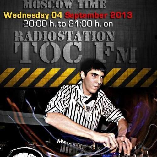 DJ Maverick @ RadioStation TOC FM *04.09.2k13* ( Phrenetikal Frequency ) RUSIAN EDITTION