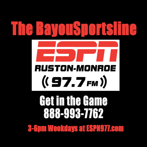 BayouSportsline Oct 9 Wed 5pm