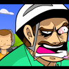 GET BLOODY - Daft Punk GET LUCKY Happy Wheels Parody