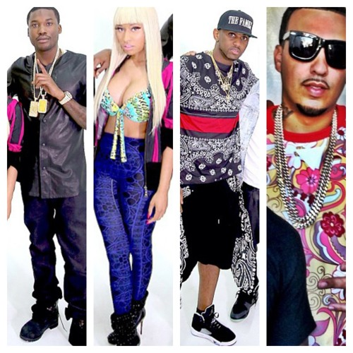 Meek Mill - I B On That (Feat Nicki Minaj, Fabolous French Montana)