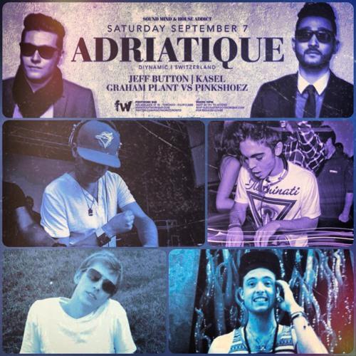 Saturday September 1st   Footwork w/ ADRIATIQUE Preview