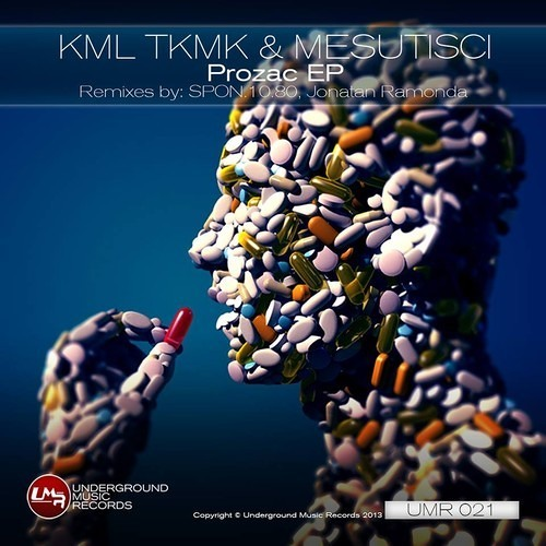 [REMIX] KML TKMK & MESUTISCI - ' PROZAC ' (SPON.10.80 remix) • OUT NOW on Underground Music Records!