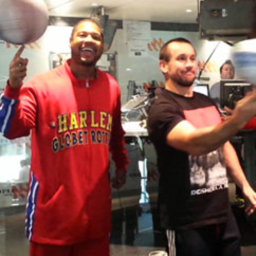 Harlem Globetrotters On Grill Team