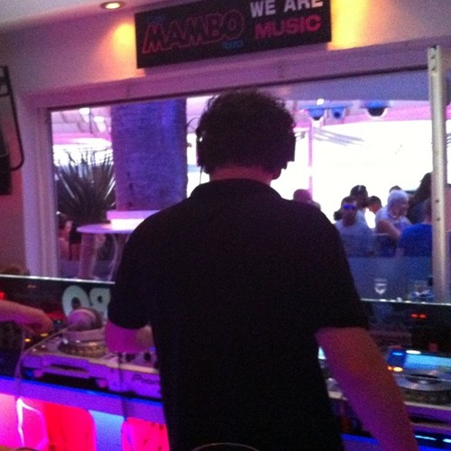 Danny Whitehead LIVE Sunset at Cafe Mambo, Ibiza,  2013