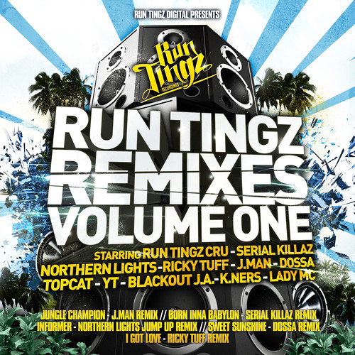 Run Tingz Cru Ft. Blackout J.A - Jungle Champion (J-Man Remix)