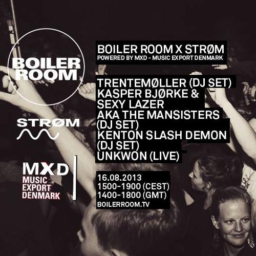 Kasper Bjørke & Sexy Lazer AKA The Mansisters 60 min Boiler Room x Strøm Festival mix