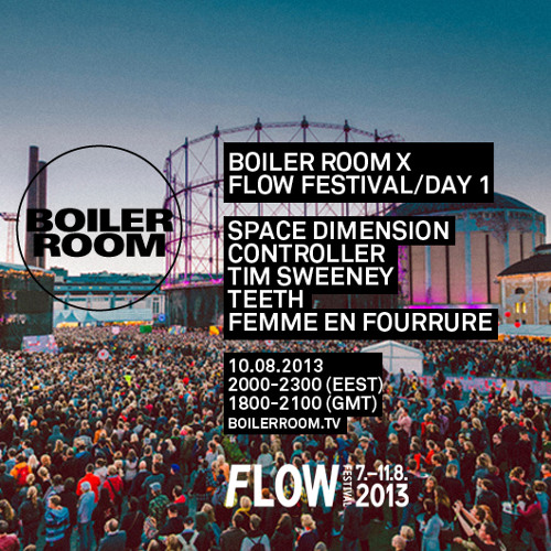 Space Dimension Controller 45 min Boiler Room x Flow Festival mix