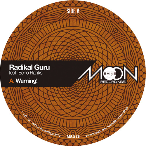 Radikal Guru ft Echo Ranks - Warning! + remixes by Dubkasm & Violinbwoy