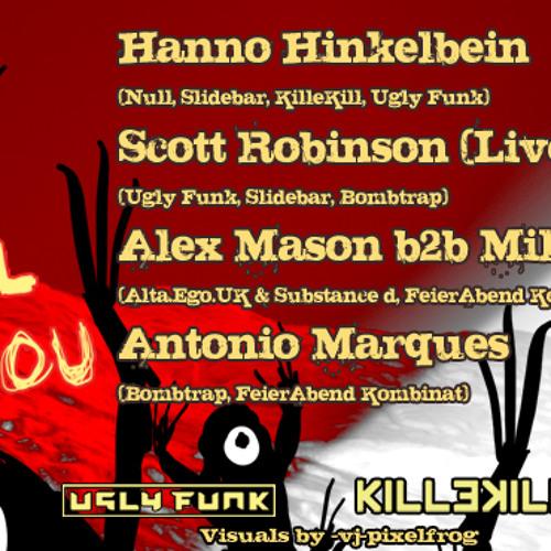 AlexMason&Millex_WeWill killEkill yoU@FeierabendKombinat/LehmannClub_31.08.13