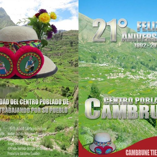 SPOT ANIVERSARIO DE CAMBRUNE