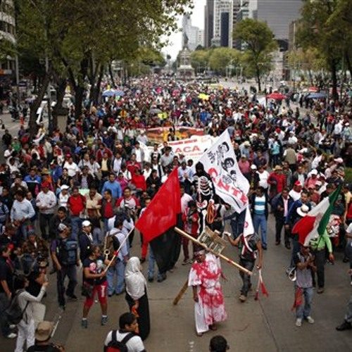 Mexican education reform moves forward amidst protesting teachers
