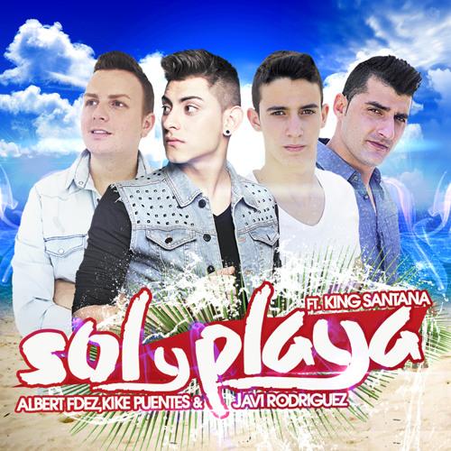 Albert Fdez, Kike Puentes & Javi Rodriguez feat. King Santana - Sol y playa (Original Mix)