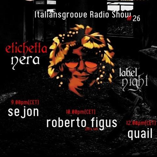 Séjon Mix - Italiansgroove Radio Show #26 - 5th September 2013