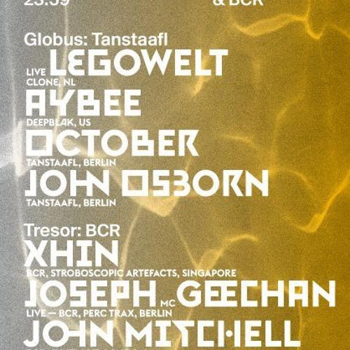 John Mitchell @ BCR Label Night in Tresor 24-08-13
