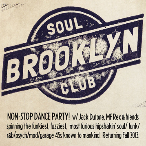 Jack Dutone's Brooklyn Soul Club Mix
