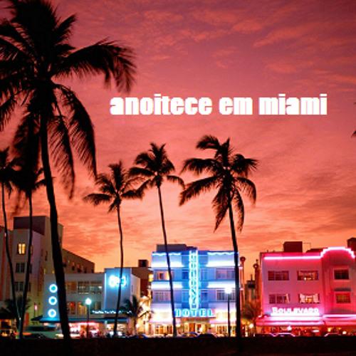 Anoitece em Miami