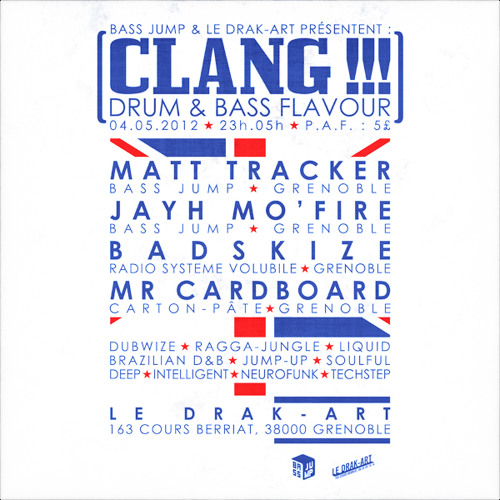 CLANG !!! - Drum & Bass Flavour