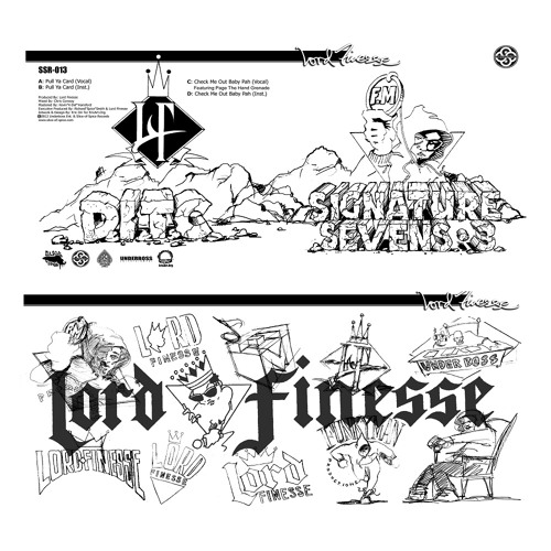 SSR 013 - Lord Finesse - Signature Sevens Vol 3 - FREE DOWNLOAD