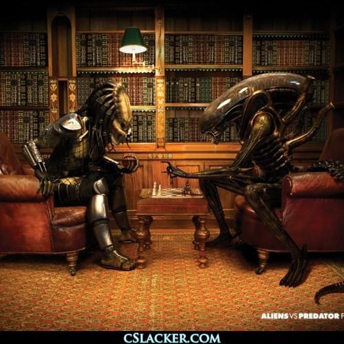 Simon McKinney records multi-Simon alternative Alien vs Predator Requiem endtag 9/9/13